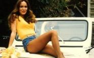 Daisy Duke in denim shorts