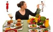 woman deciding how much to eat